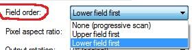 field order