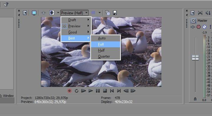 как сделать видео из фото в сони вегас