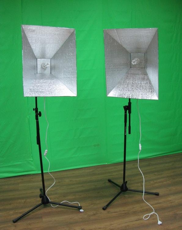 самодельный осветитель для фотосъемки уютный дом изготавливает