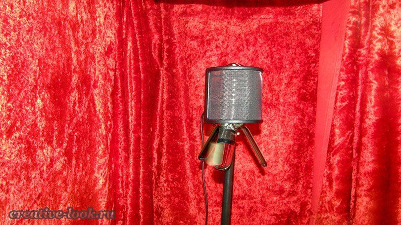 Простая звукоизоляция для записи голоса